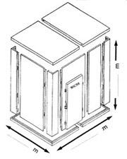 Calculer le prix d une chambre froide industrielle abc for Prix chambre froide positive